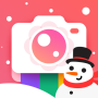 icon Bloom Camera, Selfie, Beauty Filter, Funny Sticker