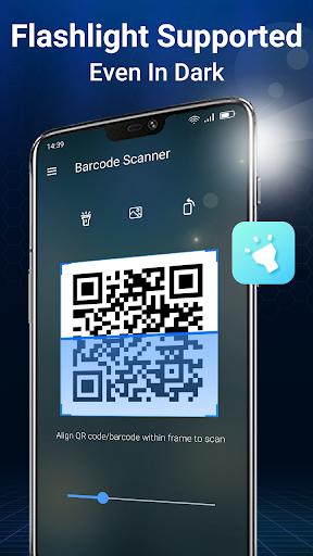 Scansione codice QR e scanner per codici a barre