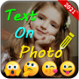 icon Text On Photo