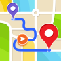 icon Free GPS Navigation & Maps, Directions