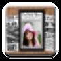 icon News Paper Photo Frame