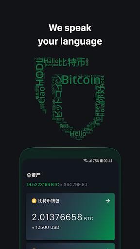 Portafoglio Bitcoin GreenBits