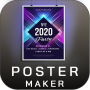 icon Poster Maker Flyer Maker 2020 free Ads Page Design