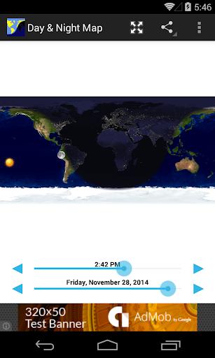 Mappa diurna e notturna