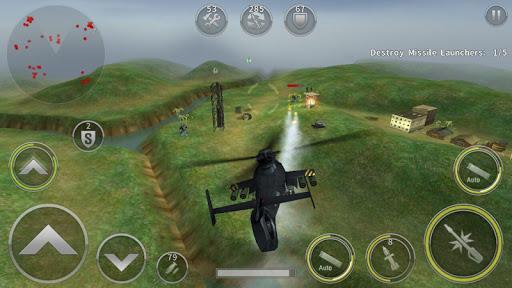 GUNSHIP BATTLE: Elicottero 3D