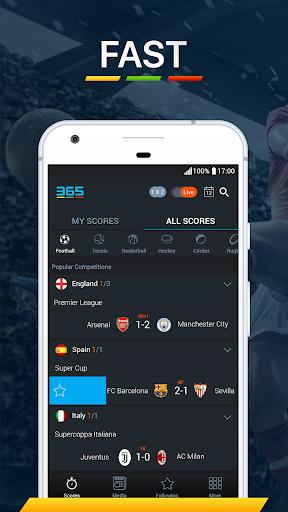 365Scores - Risultati sportivi in diretta